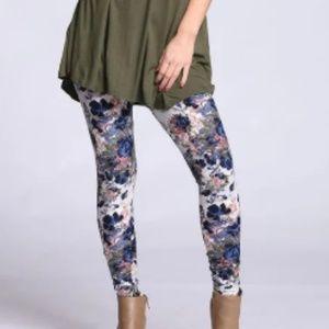 New Mix Pants - BOGO; NWOT- Floral super soft leggings